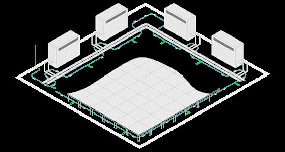 Laboratoires, salles blanches - détection fuites d'eau