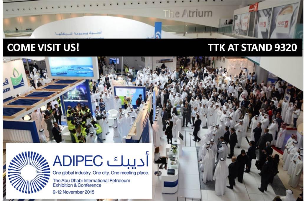 Visit us in Adipec in Abu Dhabi