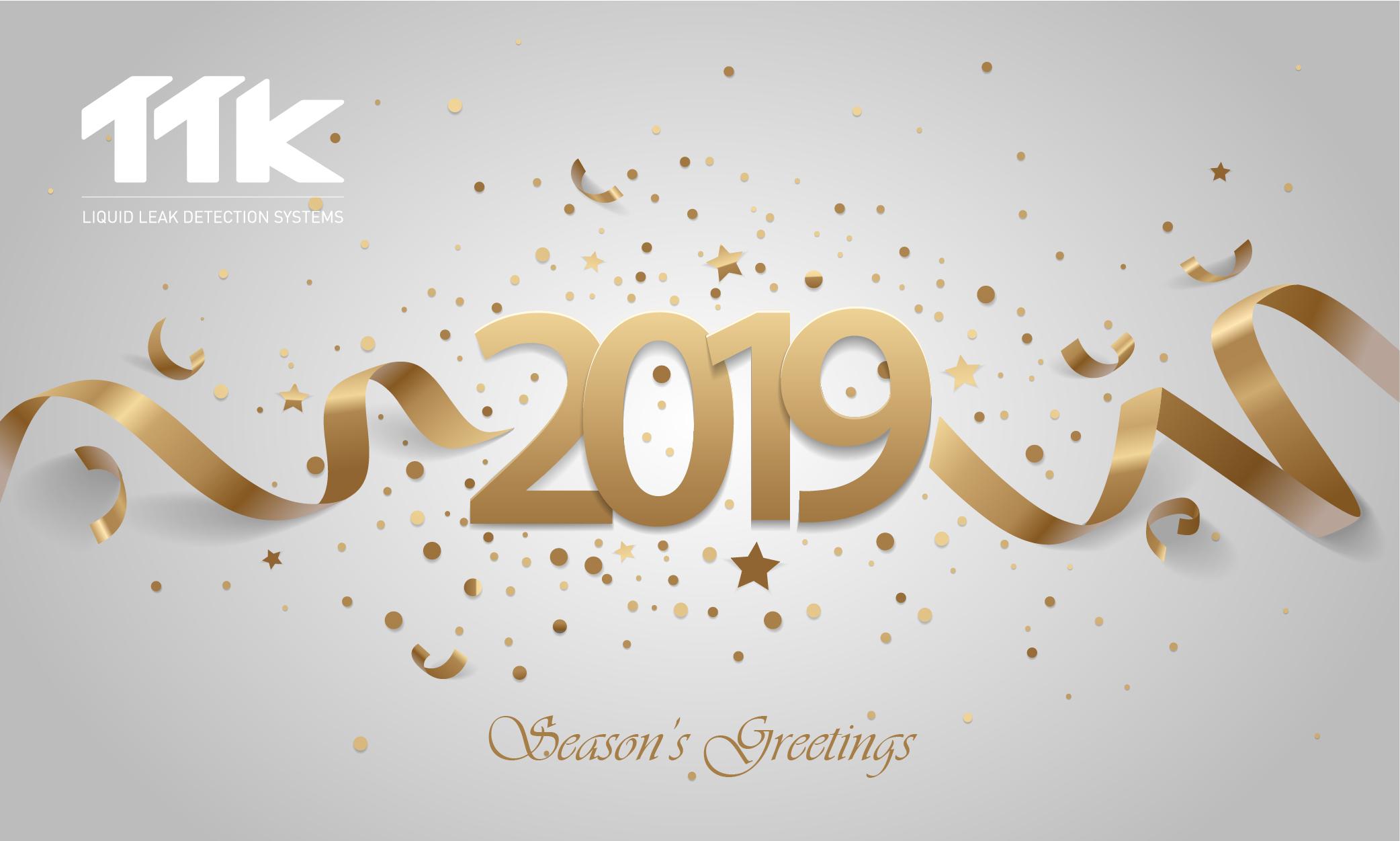 TTK vous présente ses meilleurs voeux pour 2019 !