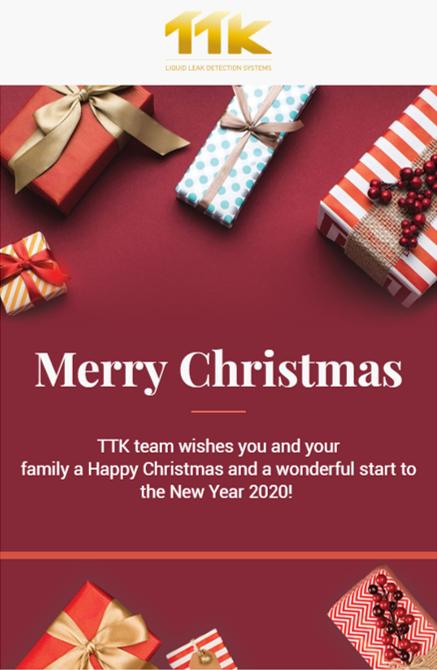 TTK vous souhaite un Joyeux Noël !