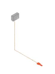 Digramme - FG-A-OD avec un capteur ponctuel FG-ODP