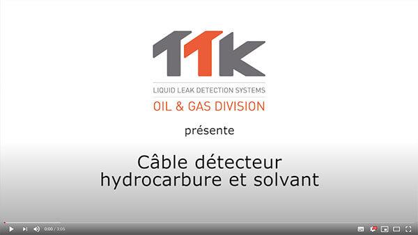 TTK vidéo demonstration: câble détecteur hydrocarbure FG-OD