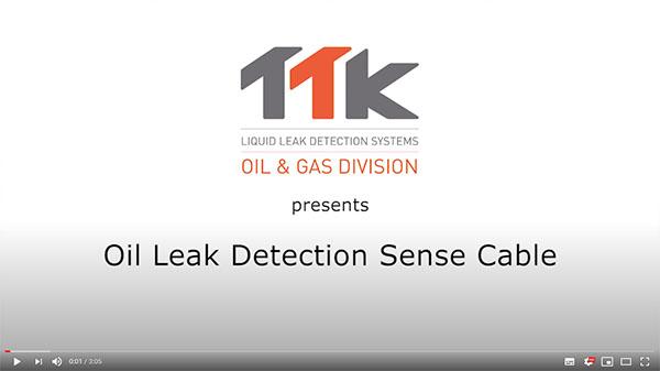 TTK Oil Leak Detection Sense Cable FG-OD Live Demo